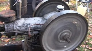 Download ANTIQUE DIESEL WITTE ENGINE COLD START Video