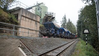 Download Harzquerbahn 2015 - Güterverkehr zwischen Unterberg und Nordhausen Video