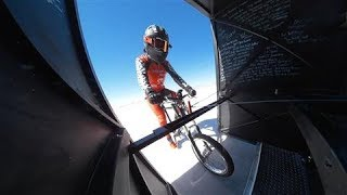 Download This Bicyclist Just Pedaled 184 MPH. Really. Video