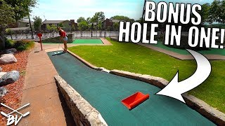 Download DOING THIS GIVES YOU A GUARANTEED MINI GOLF HOLE IN ONE! Video