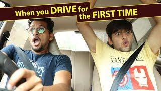 Download When you drive for the first time | Funcho Entertainment | FC Video