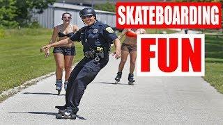 Download BEST FUN OF SKATEBOARDING 2017 ep.4 Video
