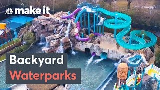 Download These Mansions Have Backyard Waterparks And Insane Pools Video