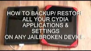 Download HOW TO BACKUP & SAVE YOUR CYDIA APPS, TWEAKS & SETTINGS ON A JAILBROKEN IPHONE, IPOD OR IPAD Video