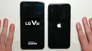 Download iPhone X vs LG V30 Speed Test and Camera Comparison! Video