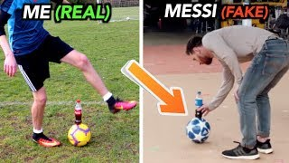Download Footballers FAKED these Tricks, But I did them for REAL!! Video