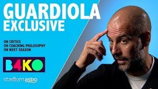 Download Pep Guardiola responds to his critics | B4KO Exclusive | Astro SuperSport Video