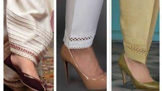Download Salwar/Trouser poncha patterns idea Video
