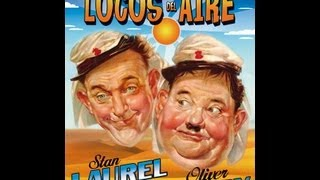 Download LOCOS DEL AIRE (THE FLYING DEUCES, 1939, Full movie, Spanish, Cinetel) Video