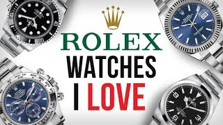 Download 5 Rolex Watches I LOVE & The ONE I Bought Video