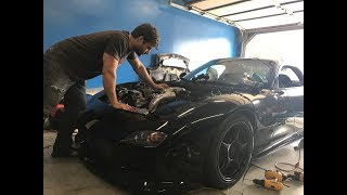 Download FIRING UP THE NEW 3 ROTOR RX-7 Video
