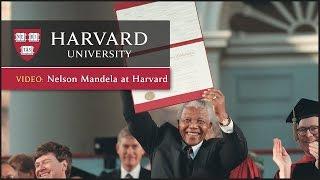 Download Nelson Mandela at Harvard Video