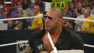 Download Raw: Batista quits WWE Video