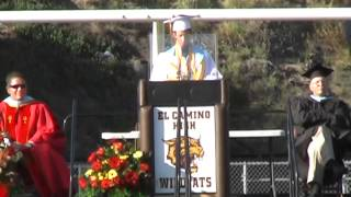 Download Hilarious Valedictorian Speech - Class of 2014 (El Camino High School) Video