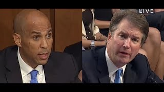 Download Sen. Booker Stunned by Kavanaugh Answer on Yale Black Law Students Association Video