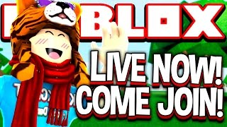 Download 😂 ROBLOX LIVE | SallyGreenGamer | Phantom Forces, Prison Life, MM2, Assassin, Natural Disasters Video
