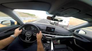 Download Audi A4 B9 2.0 Tdi 190 Hp Quattro Otoyol Sürüşü Ve Son Hız Video