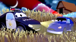 Download Car Patrol - What is in Ben's field? - Car City ! Police Cars and fire Trucks for kids Video