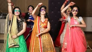 Download Sisters Dancing at Ladies Sangeet | Indian Wedding Dance Video | Choreography By Step2Step Video