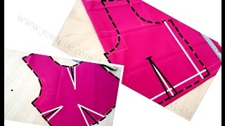 Download Blouse Drafting ,Cutting & Stitching With Simple Method & Tips   DIY   Cross  Straight Cutting Video