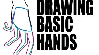 Download DRAWING A BASIC HAND: 3 quick steps. Video