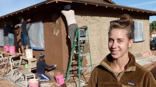 Download Community Rebuilds With Strawbale Houses! Video