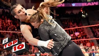 Download Top 10 Raw moments: WWE Top 10, April 16, 2018 Video