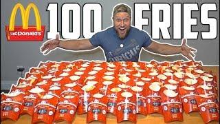 Download 100 McDONALD's FRIES MONOPOLY EXPERIMENT CHALLENGE! Video