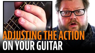 Download How to Adjust the Action on an Acoustic Guitar Video
