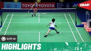 Download PRINCESS SIRIVANNAVARI Thailand Masters 2020   Finals WS Highlights   BWF 2020 Video