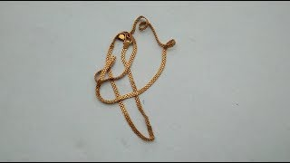 Download 4 Grams Gold chain model from GRT Jewellers Video
