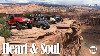 Download HEART & SOUL - A Moab Jeep Adventure with Jeep Engineers / Moab Rim & Cliff Hanger [Part-2] Video