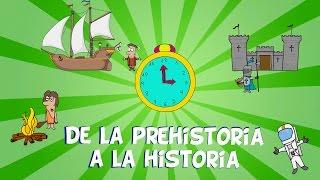 Download De la prehistoria a la historia, las edades del hombre. Vídeos educativos para niños Video