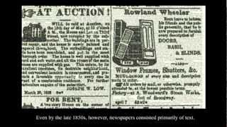 Download American Newspapers, 1800-1860: Introduction Video