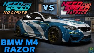 Download NFS No Limits vs NFS Payback - BMW M4 RAZOR Video