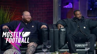 Download Action Bronson and Jay Rock Talk Football, Weed and Animal Fight Club | Mostly Football Video