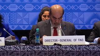 Download Statement by Director General FAO Jose Graziano da Silva, APRC 34, 2018 Video