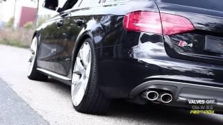 Download Audi S4 B8 3.0 TFSI clapet valve PRO INOX Video