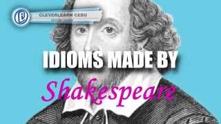 Download Idioms Coined by Shakespeare Video