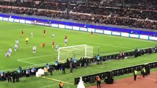 Download Roma - Porto 2-1 1goal live Zaniolo dalla curva Video