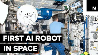 Download The First AI Robot Has Made It to Space and It's Kind of Creepy Lookin' Video