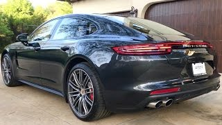 Download 2017 Porsche Panamera Turbo just arrived - Very Crispy! Vlog #13. 3-27-17 Video