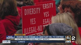 Download Hearing over Howard County sanctuary bill to continue Video