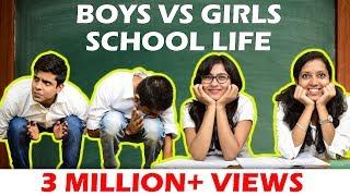 Download BOYS vs GIRLS in SCHOOL LIFE | The Half-Ticket Shows Video