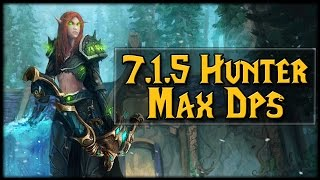 Download 7.1.5 Hunter Marksmanship MAX DPS! [Outdated] Video