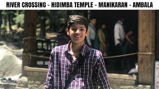 Download MANALI TO AMBALA | RIVER CROSSING | HIDIMBA TEMPLE | MANIKARAN | LADAKH | TVS JUPITER | 2017 Video
