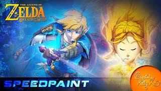 Download Legend of Zelda: Breath of the Wild - Speedpaint Video