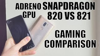 Download Snapdragon 820 vs 821 GAMING Comparison/Speed test/hi end games/gameplay/Adreno 530 GPU/review/Chip Video