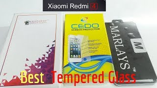Download Best TEMPERED GLASS For Xiaomi Redmi 4 ( Indian Unit ) Video