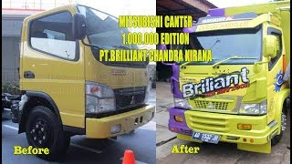 Download Modif Keren MITSUBISHI CANTER 1.000.000 EDITION PT.BRILIANT CHANDRA KIRANA Video
